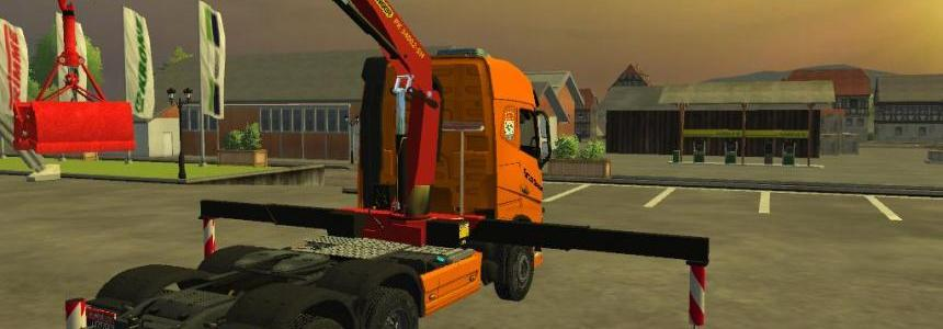 Volvo FH16 with crane V1