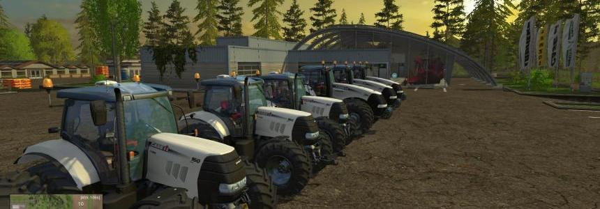 White CaseIH Magnum and Puma  6 Pack V1.4 Final