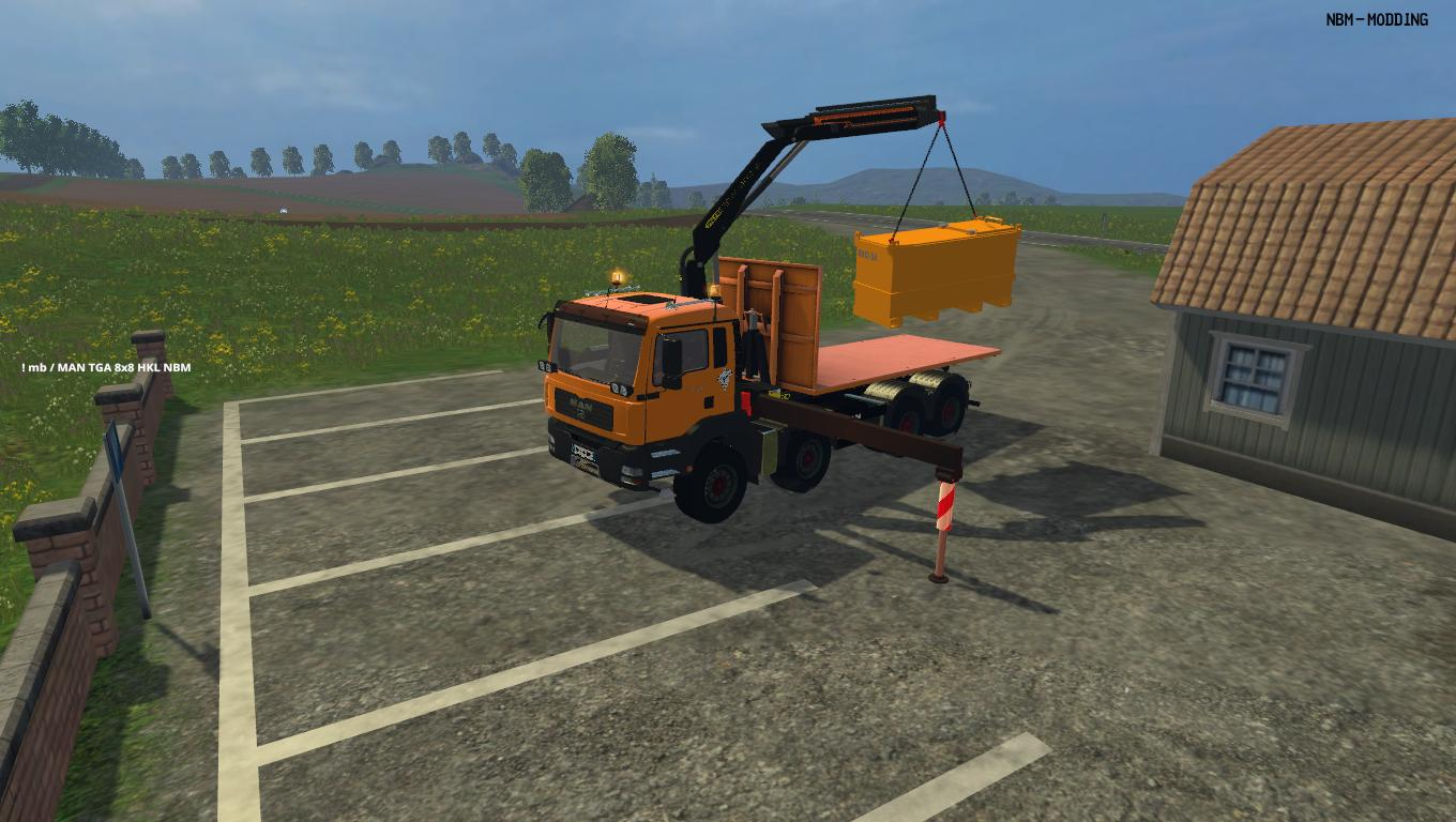 Man TGA HKL Palfinger 34002 1.0 by NBM - Modding v1.0
