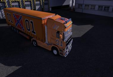 General lee Scania v1
