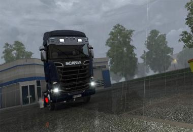 Scania Chrome Sunshield