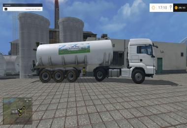 SKIN MILK TRAILER: CENTRAL LECHERA ASTURIANA VERSION v1.0