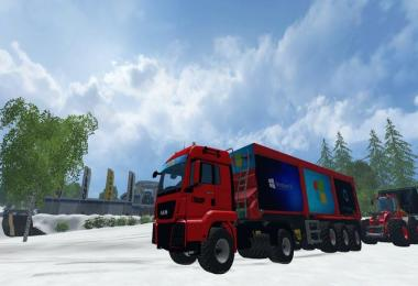 Skin Windows 10 Truck v1.0