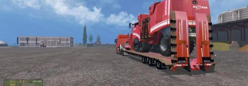 Low Loader Galtrailer U.S.A. SC v2.0