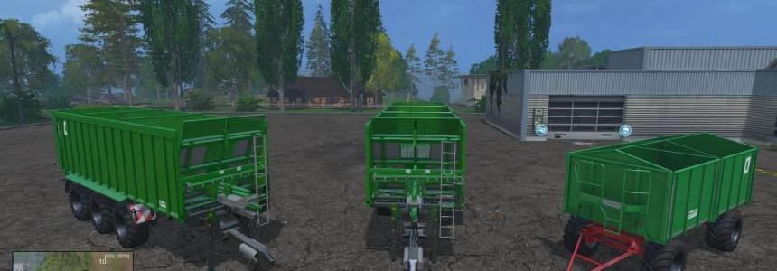 Kroeger trailer tripple pack updated V1.1 Final