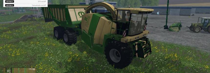 Krone BIG X 650 Cargo v4