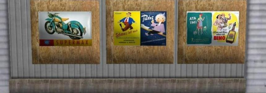 Advertising signs v1.0