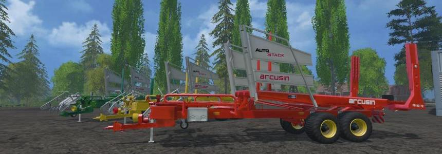 Arcusin Bale Autostack Fs63_72 3 pack V1.0
