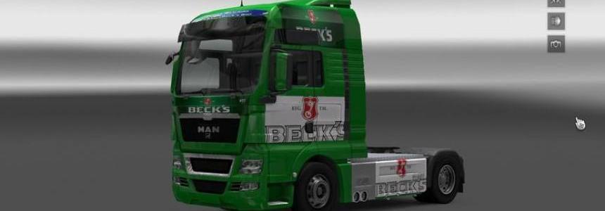 Becks MAN Skin v1.0