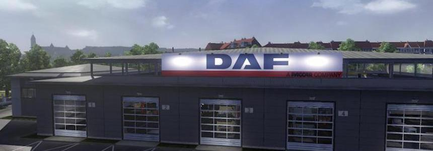 Big garage daf for Garage daf tours