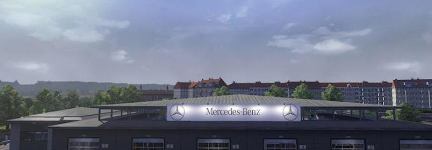 Big Garage Mercedes 1.16.x