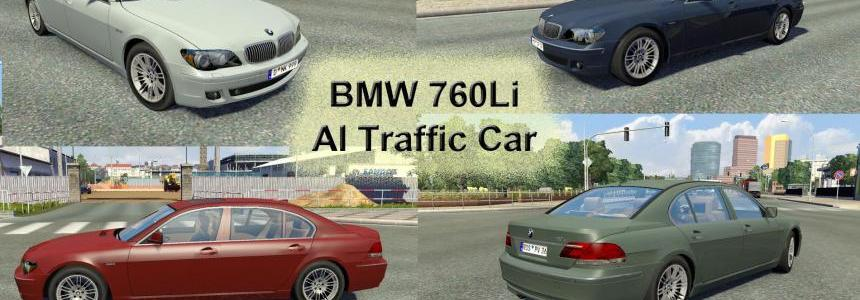 BMW 760Li AI Traffic Car