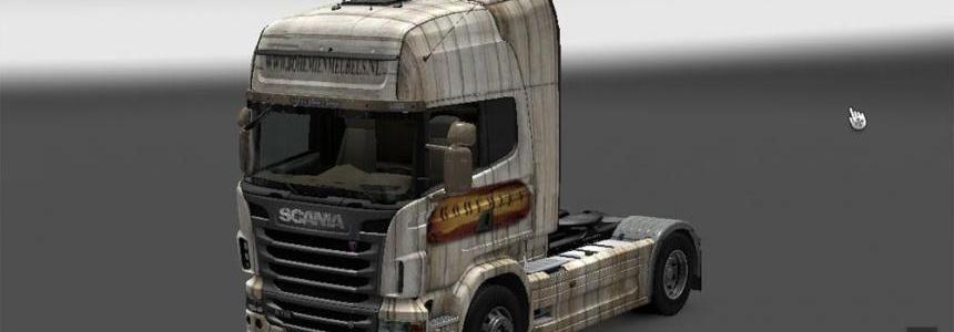 Bohemien truck + trailer v1