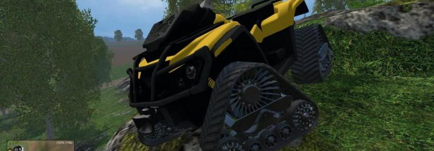 Can Am ATV Apache Yellow v1.1