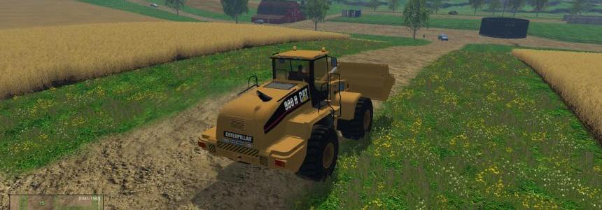 CAT 980H - 120000 Liters FS 2015