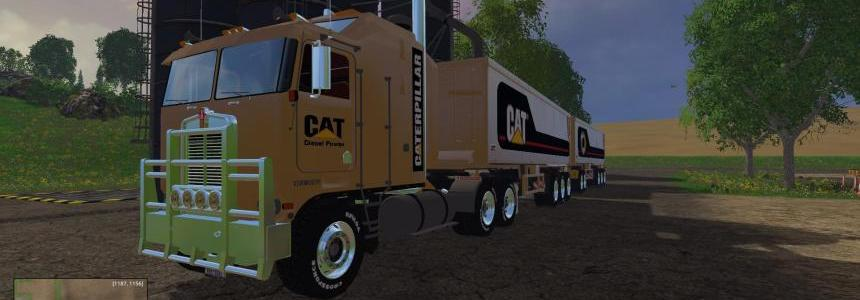CAT - Truck + Trailer 350.000 Liters FS 2015