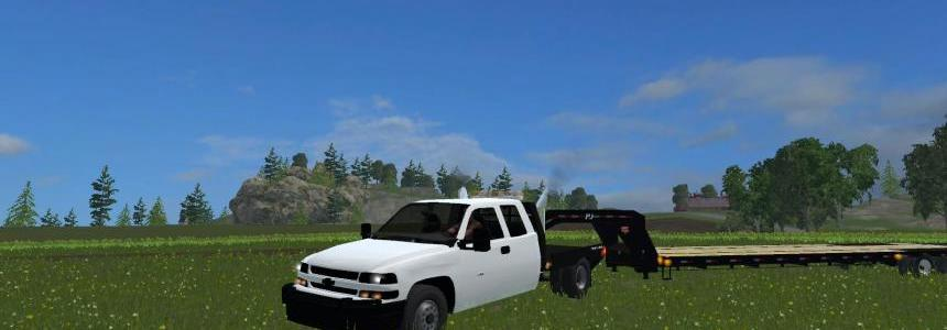 Chevy Duramax Flatbed  V2
