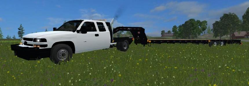 Chevy Duramax flatbed  Zip.file  V2