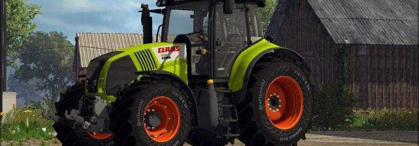 Claas Axion 850 V5