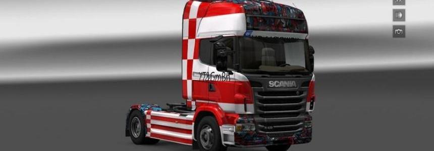 Companies skin YT GmBH Scania R2009 v1.16.2