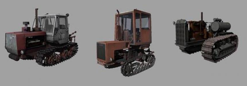 Crawler Tractors Set v1.0
