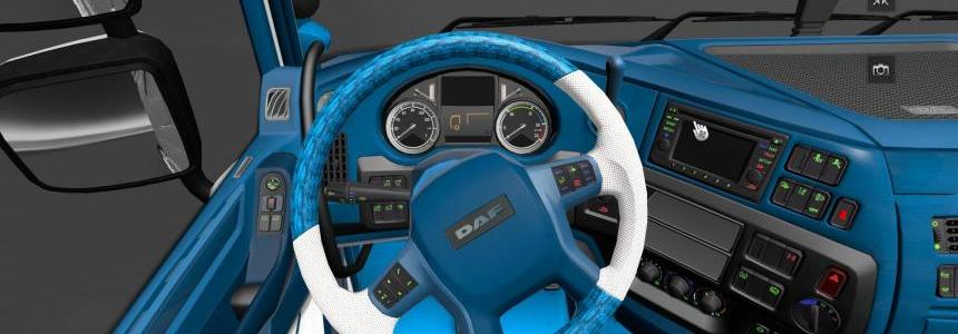 Daf Euro 6 Blue Dashboard & Interior