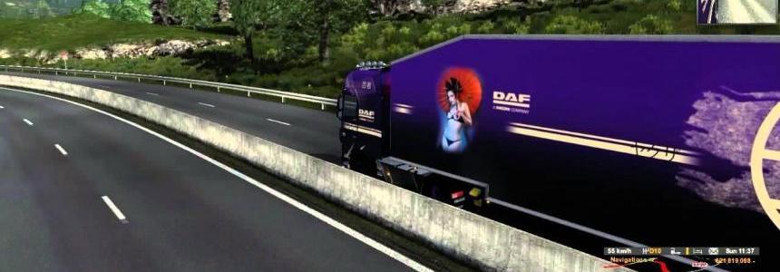 DAF XF EURO 6 GEiSHA Truck 1.16.2