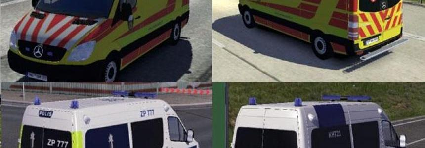 Fin Police and Ambulance AI Cars v2.2.1