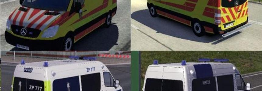 Fin Police and Ambulance AI Cars v2.2.2