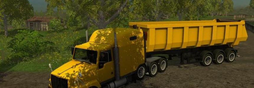 GAZ titanium with trailer v1.41 Deutsche Kennzeichen
