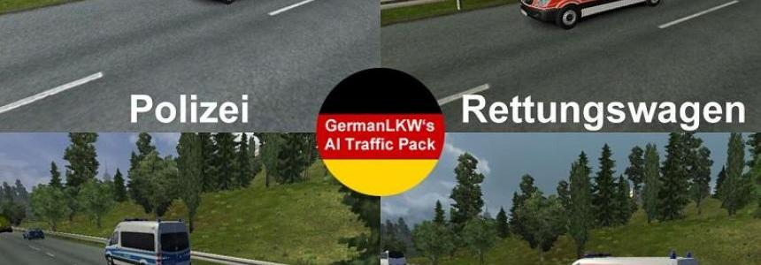 German Rescue Cars V1 for ETS2 1.16x