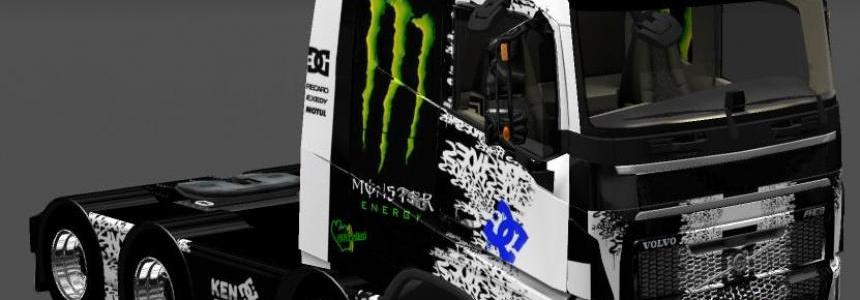 GGG Skin Pack to Volvo FH16 2013 v18 by Ohaha