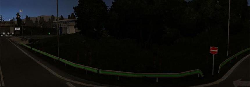 Green Straight Line v1.0