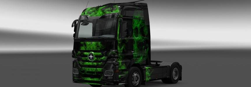 Greenflame Mercedes Skin
