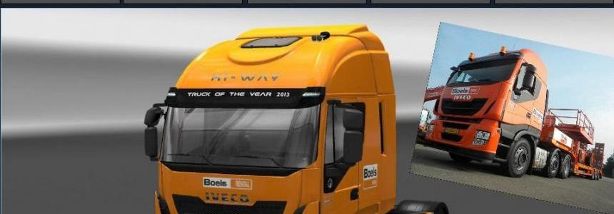 Iveco Hi Way Boels Rental Skin