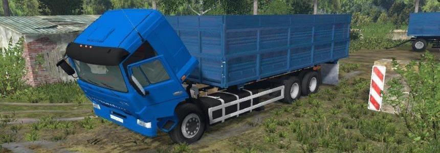 KAMAZ 45143 + Nefaz 8560 v1.0