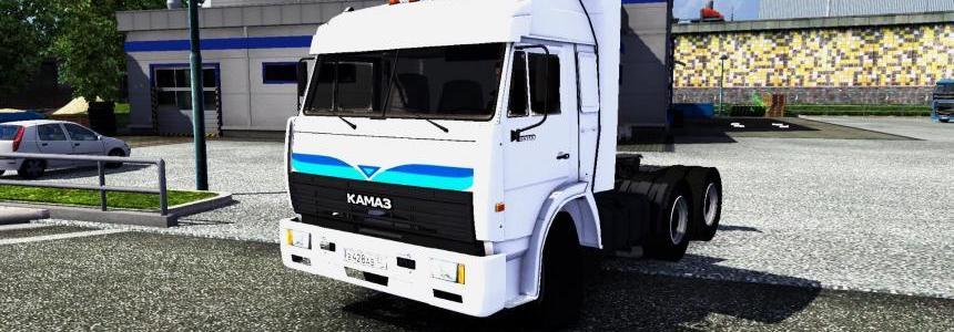 KamAZ 54115 + Interior  v1.0