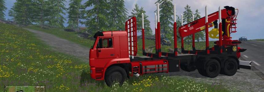 Kamaz 65117 Timber Edition v1.0