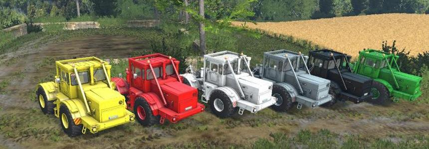 Kirovets K-700A Multicolor Tractor v1.0