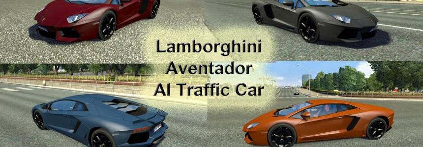 Lamborghini Aventador AI Traffic Car