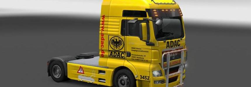 MAN TGX ADAC v all