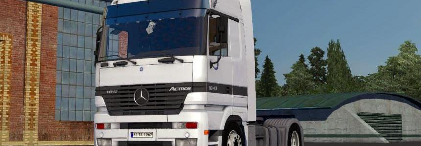 Mercedes Benz Actros 1843 Mp1