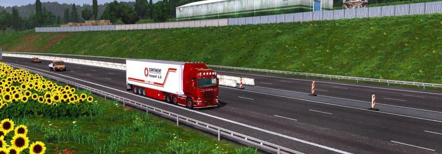 MHAPro map EU 1.8.1 for ETS2 v1.16.x by Heavy Alex