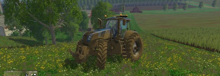 New Holand T8.320 - 600HP Fs 2015