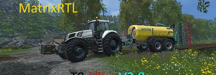 New Holland T8 Ultra white v3.0