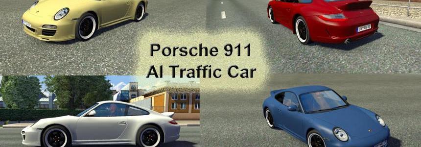 Porsche 911 AI Traffic Car