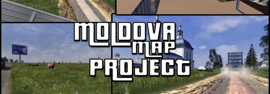Republic of Moldova Map Project v0.1