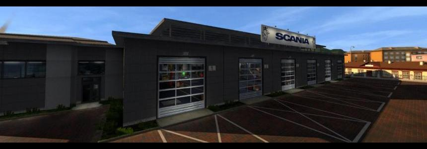 Scania Big Garage v1.0