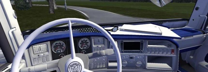 Scania Blue Interior 1.16.x