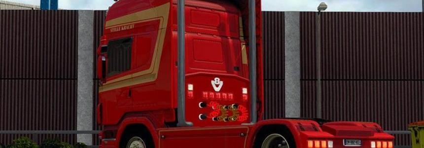 Scania Fleurs vd Eijkel Skin v2.0